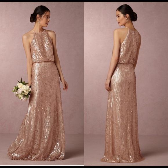 9615c5ee Donna Morgan Dresses | Bhldn Sequined Alana Dress | Poshmark